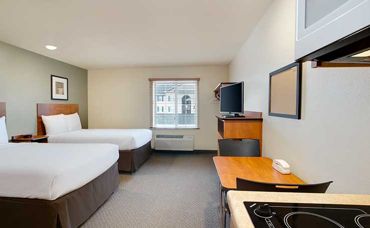 Extended Stay Hotels In Columbus North I 270 Oh Woodspring Suites
