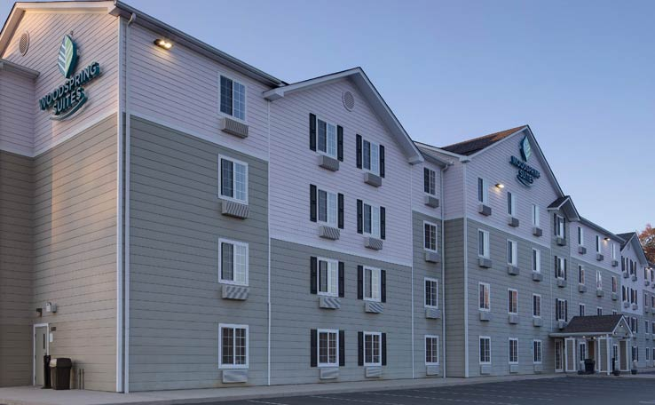 Extended Stay Hotels in Fayetteville, NC | WoodSpring Suites