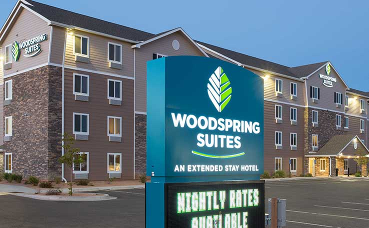 extended stay hotels in grand junction co woodspring suites. Black Bedroom Furniture Sets. Home Design Ideas