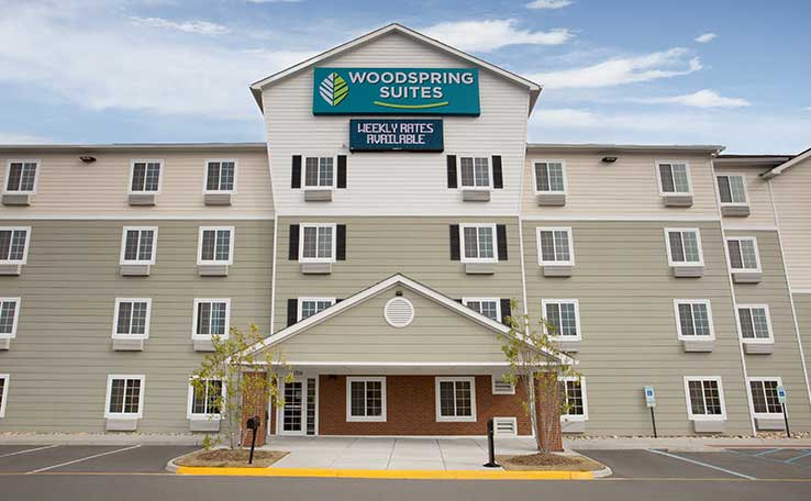 Woodspring Suites Chesapeake Norfolk Greenbrier