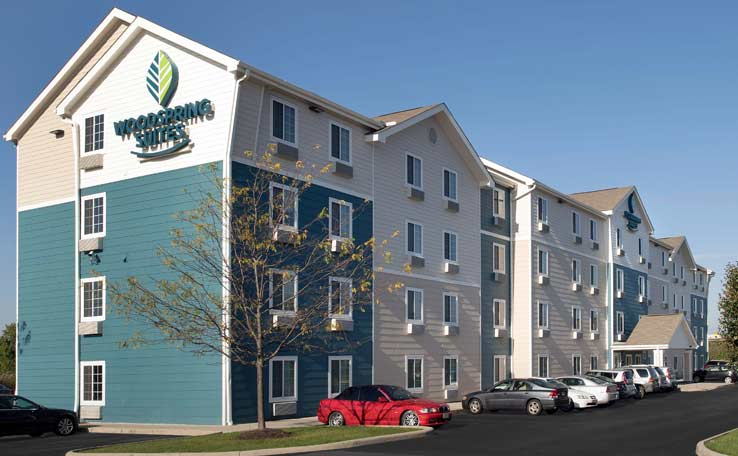 Extended Stay Hotels In Hilliard Oh 43228 Woodspring Suites