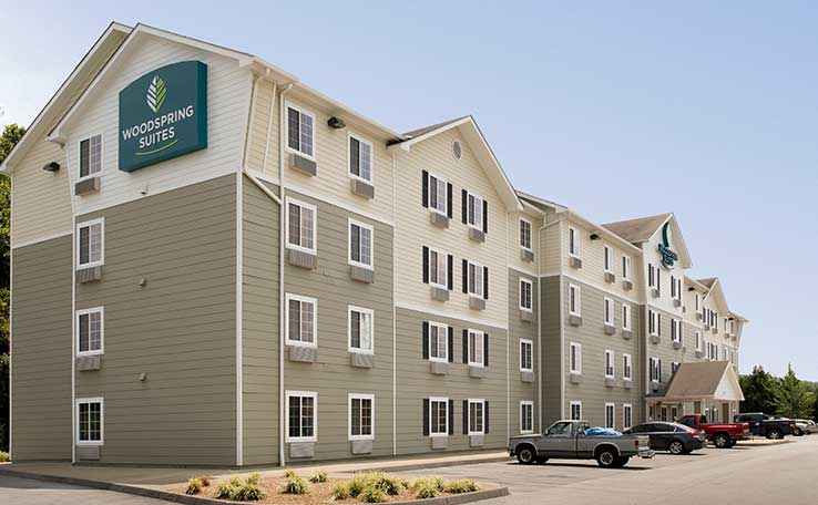 extended stay hotels in johnson city tn woodspring suites. Black Bedroom Furniture Sets. Home Design Ideas