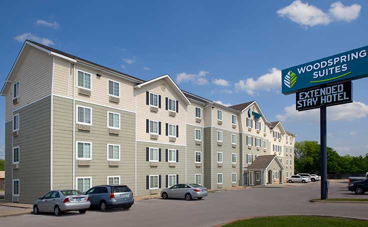 Extended Stay Hotels in Killeen, TX | WoodSpring Suites