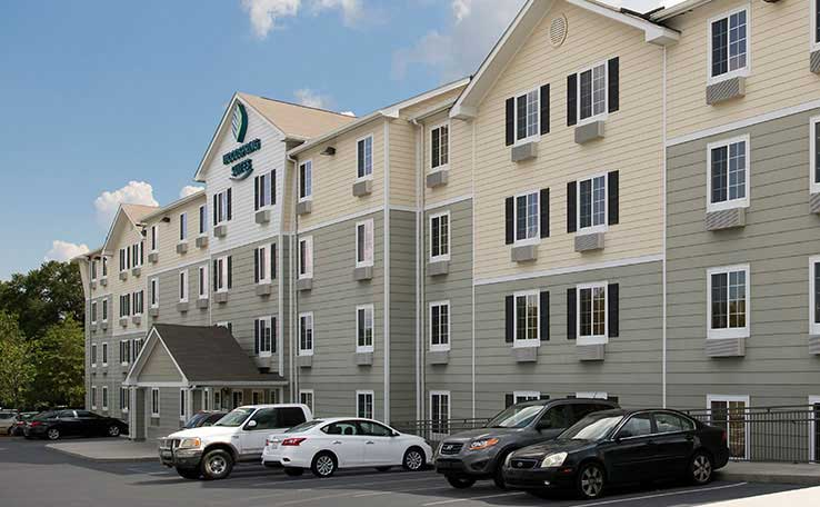Extended Stay Hotels in Lexington, SC | WoodSpring Suites