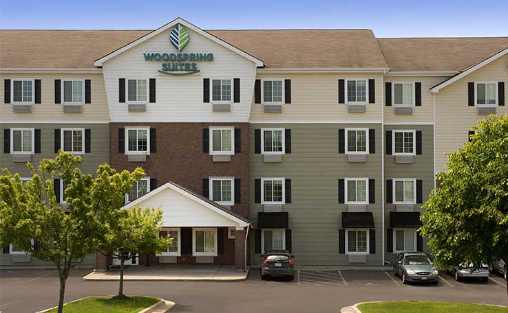 extended stay hotel in liberty missouri woodspring suites. Black Bedroom Furniture Sets. Home Design Ideas