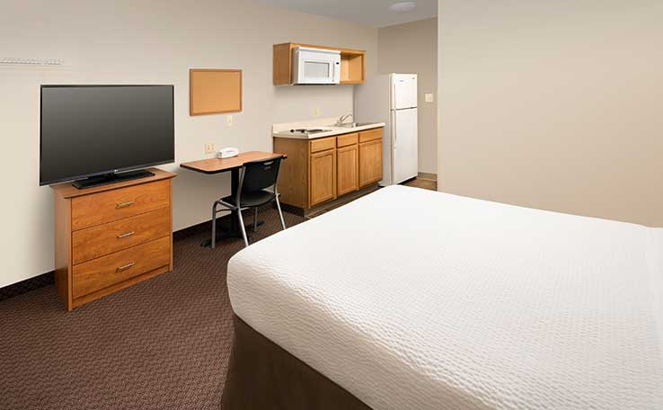 Extended Stay Hotels in Lexington, KY | WoodSpring Suites