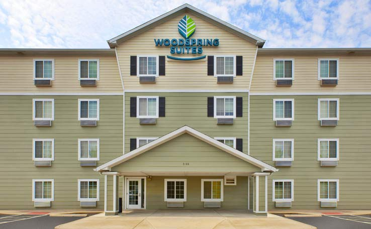 Woodspring Suites St Louis Charles