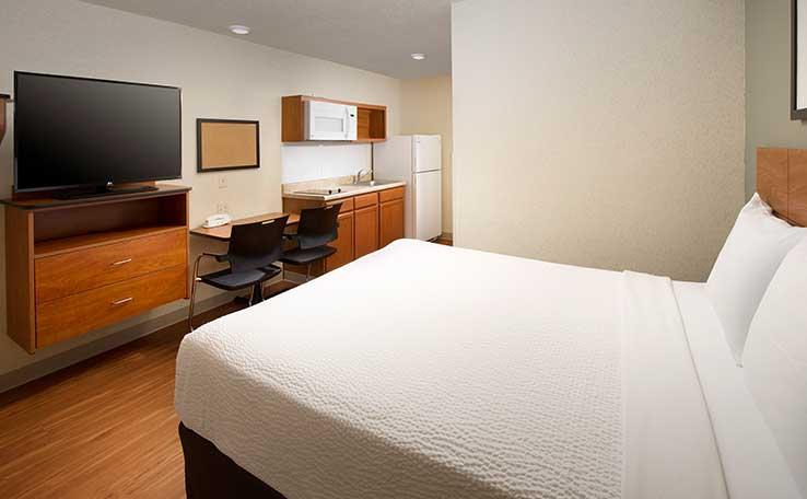 Extended Stay Hotels In WilkesBarre PA WoodSpring Suites Awesome Bell Furniture Wilkes Barre Exterior