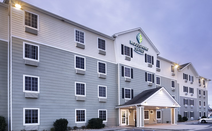 extended stay hotels in wilmington nc woodspring suites. Black Bedroom Furniture Sets. Home Design Ideas