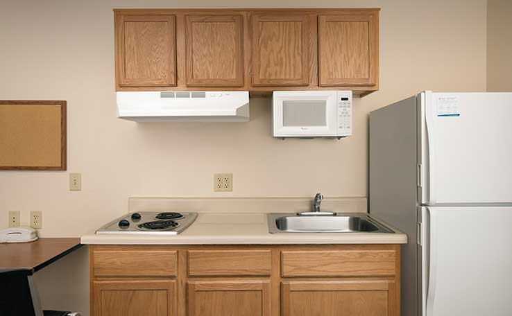 Extended Stay Hotels near South San Antonio | WoodSpring Suites Hotels