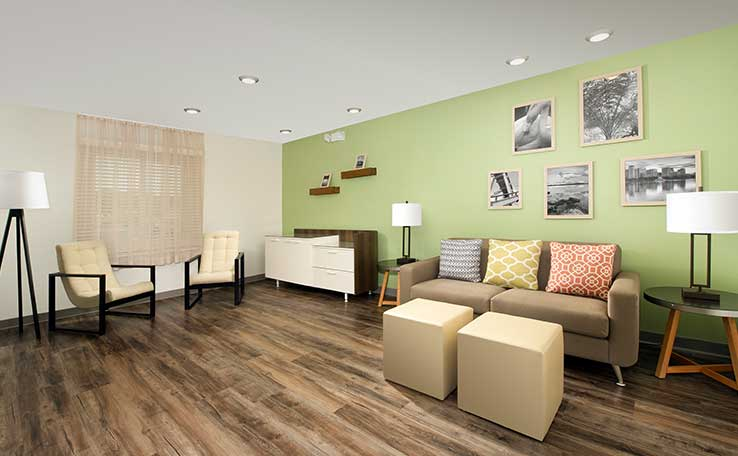 extended stay hotels near southwest miami woodspring. Black Bedroom Furniture Sets. Home Design Ideas