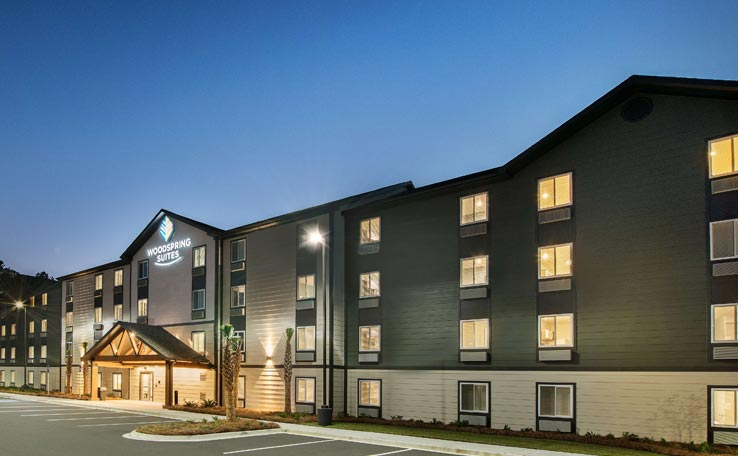 Extended Stay Hotel in Pooler, GA | WoodSpring Suites
