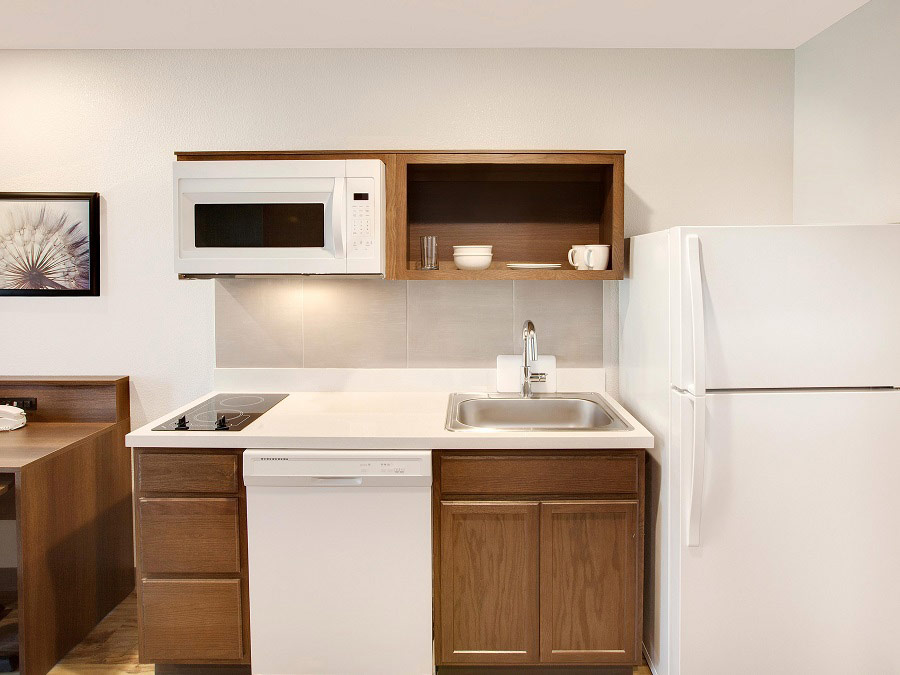Extended Stay Hotels With Kitchens Woodspring Suites In Room Kitchens